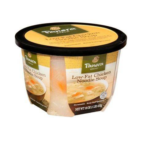 Panera Bread Soup, Low-Fat, Chicken Noodle - 16 Ounces