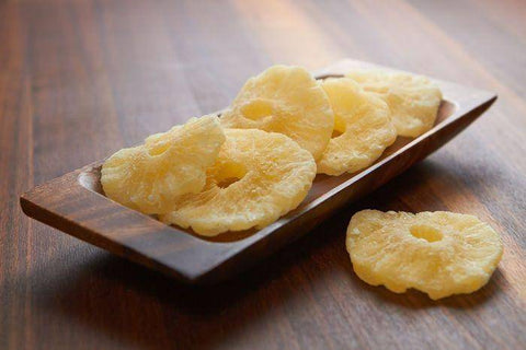 Dried Pineapple Rings, Container