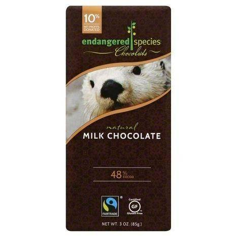 Endangered Species Milk Chocolate, 48% Cocoa - 3 Ounces
