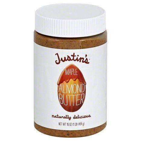 Justins Almond Butter, Maple - 16 Ounces