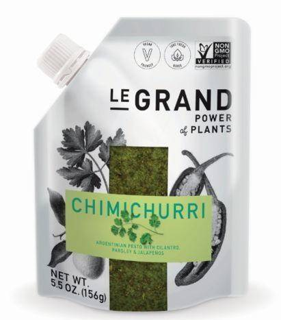 Legrand Power Of Plants Chimichurri Argentinian Pesto With Cilantro, Parsley & Jalapenos - 5.5 Ounces