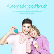Ultrasonic USB 360 degrees automatic sonic electric toothbrush (4 Modes Timer & Blue Light)