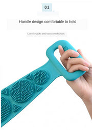 Magic Body Silicone Shower Bath Scrubber/ Massage Towel