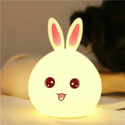 Decorative LED Rabbit Bedside Night Light/ Lamp