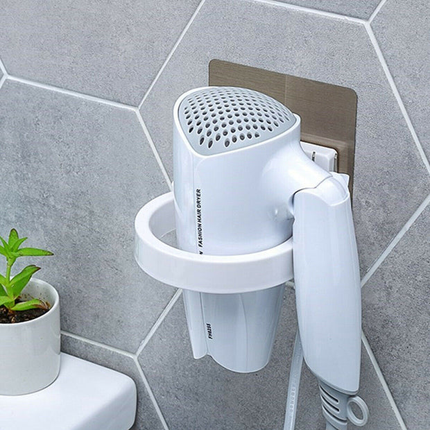 High Quality Wall-mounted ABS Hair Dryer Storage Holder