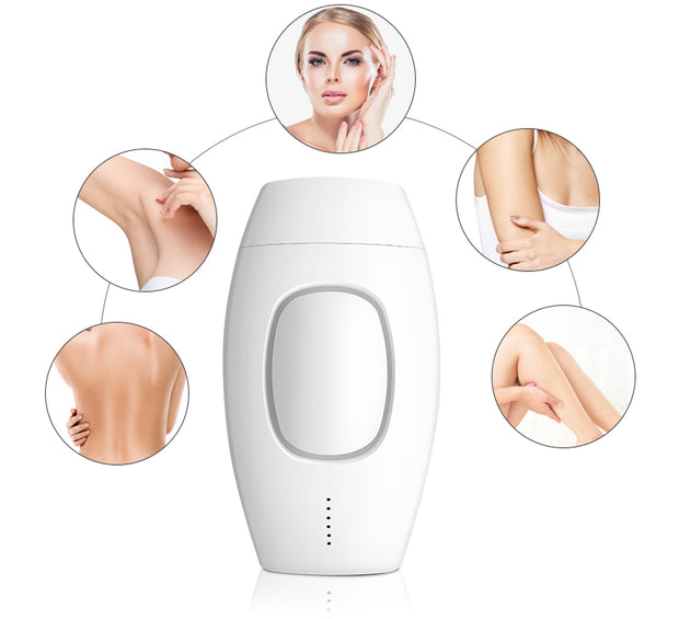 Professional Painless IPL Laser Depilator/ Hair Removal 600000 LCD