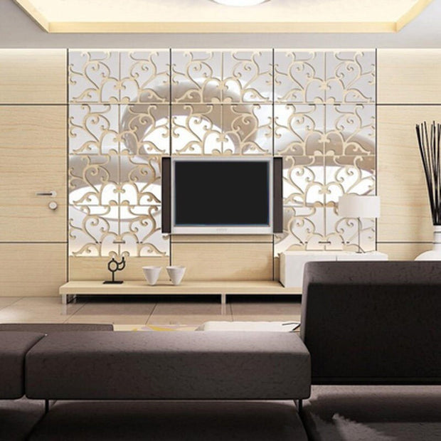 3D Acrylic Removable Wall Art Sticker