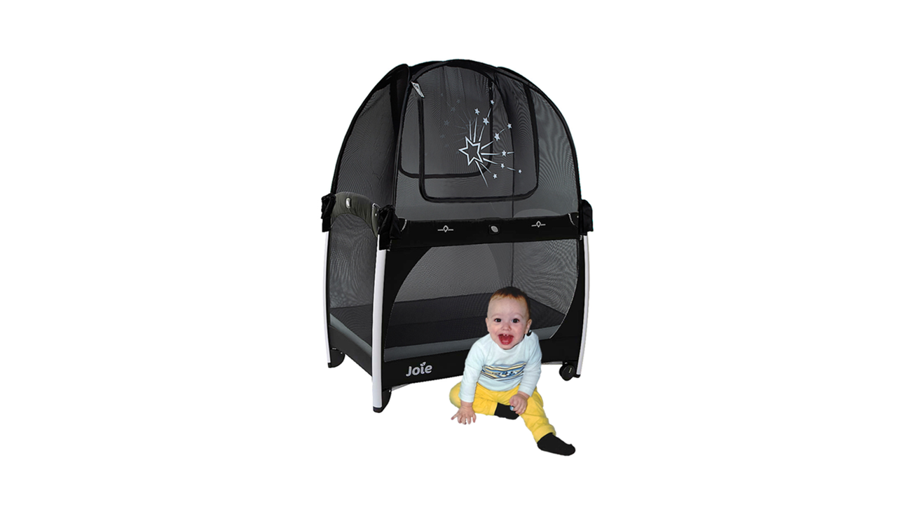 popup baby pack n play crib safety net tent to keep baby and toddler from climbing out of the crib