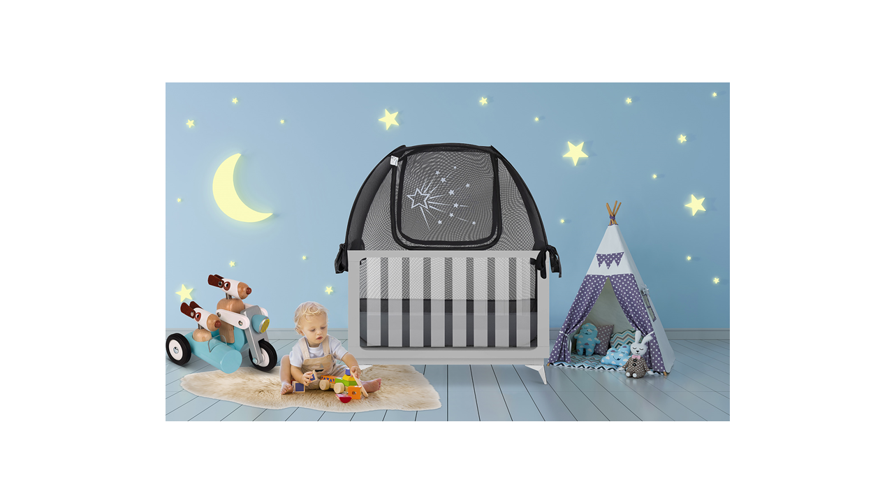 "Baby Crib Tents - ""Starry Night"""