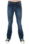 Run & Fly dark blue denim bootcut jeans