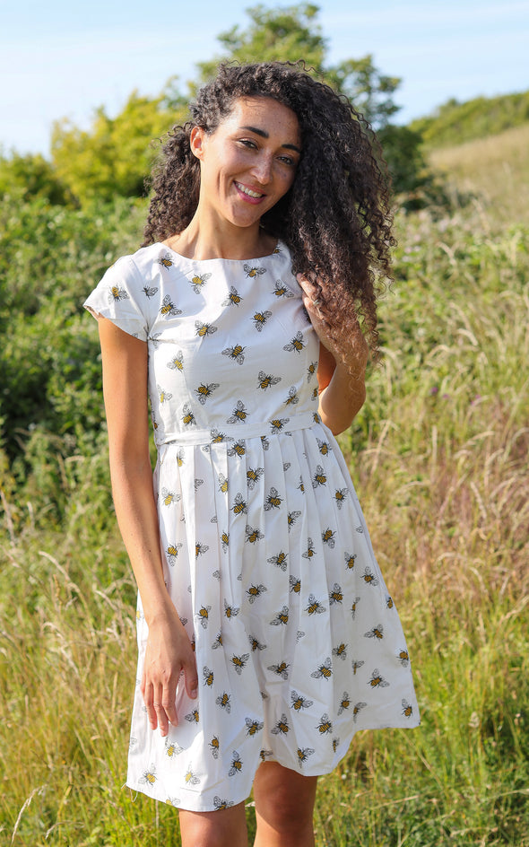 King Bee Tea Party Dress