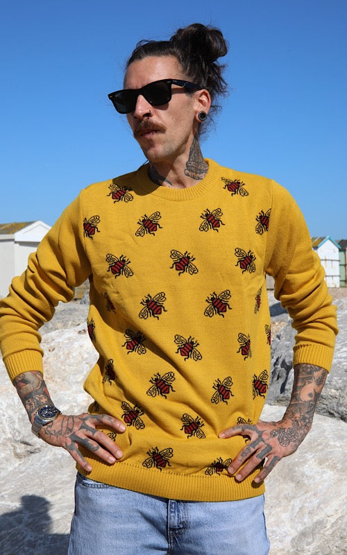Bees Knees Honey Gold Jumper