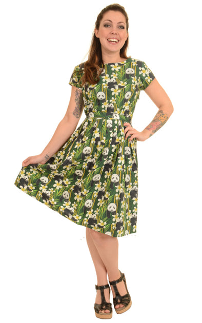 Green Panda Tea Dress