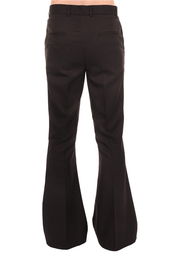 Presley Brown Bell Bottom Trousers Slacks