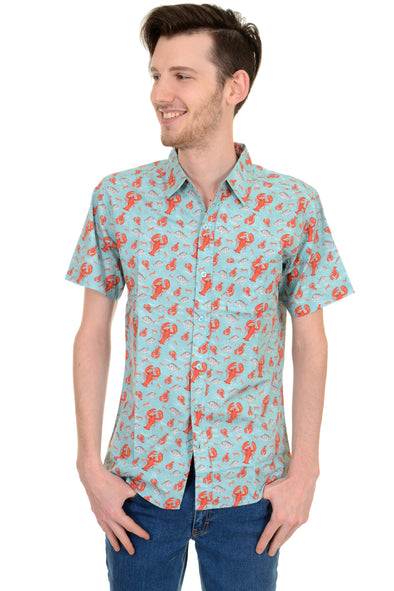 Lobster Short Sleeve Shirt