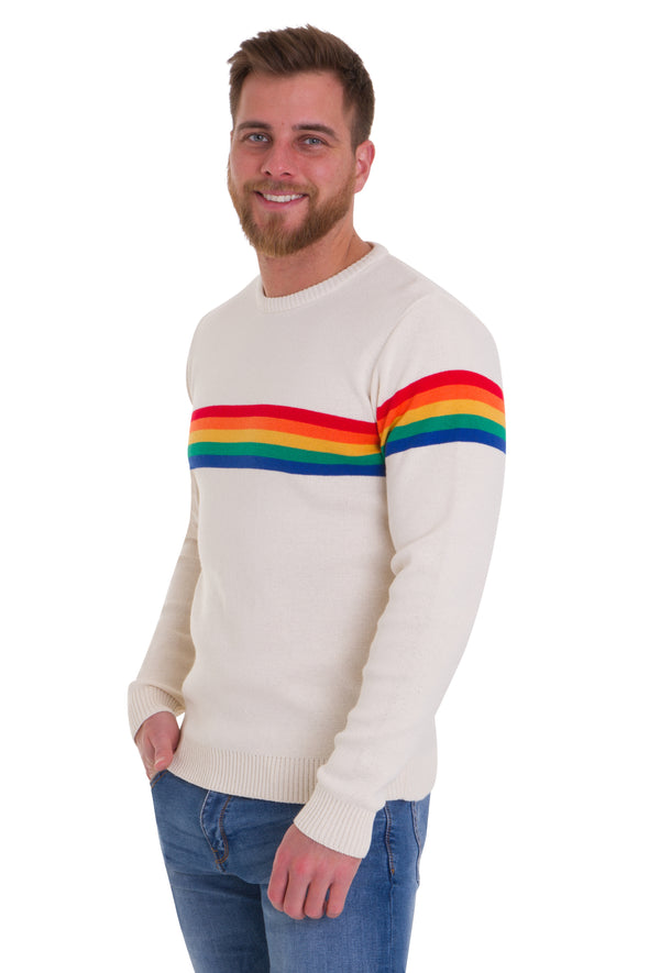 Ecru Rainbow Jumper