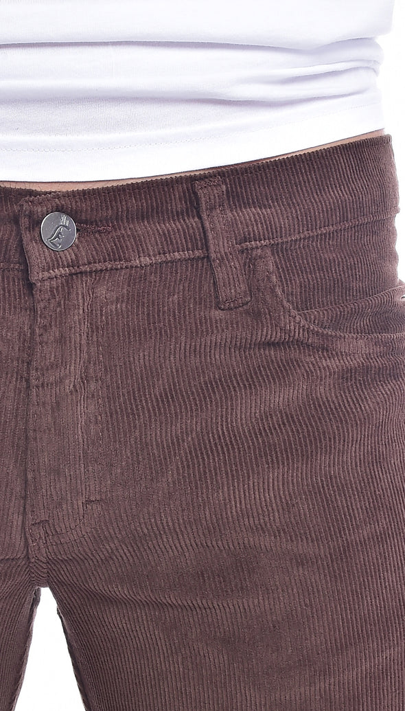 Brown Corduroy Bell bottom Super Flares