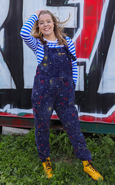 Corduroy Outta This World Dungarees