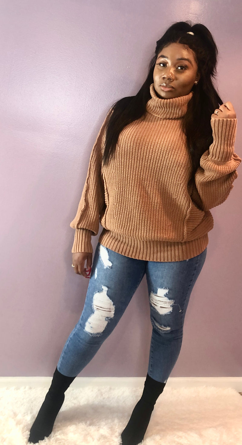 Cozy Up Turtle Neck - Kloset Kemistry