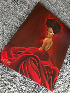 "Fine Art Print ""QUEEN COLLECTION- Valentina"""