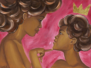 "Fine Art Print ""Young Queen"""