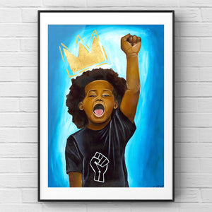 "Fine Art Print ""Young King"""