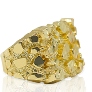 Nugget Style Ring 10K Gold