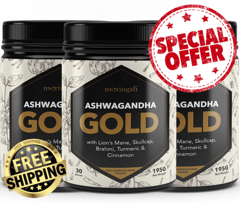 ASHWA-GOLD 3-Pack Bundle