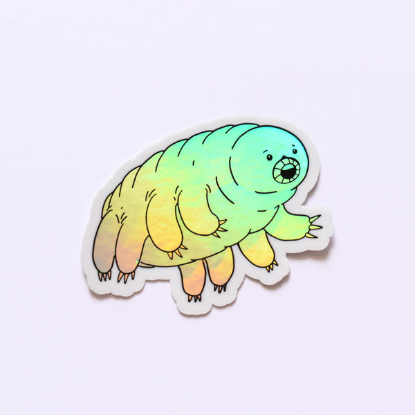 Tardigrade | holo science sticker (biology)