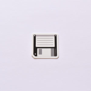 Floppy Disk | vinyl science sticker (STEM, tech)