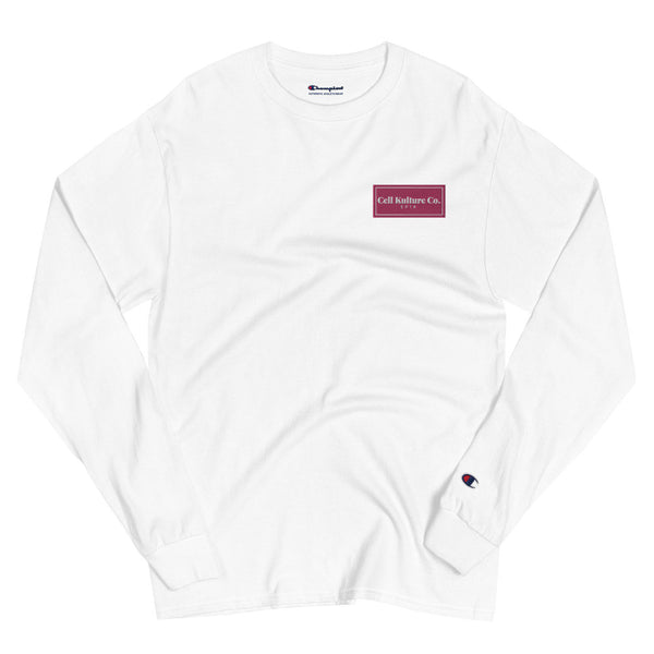 Cell Kulture Co. embroidered long sleeve t-shirt | science clothing (STEM)