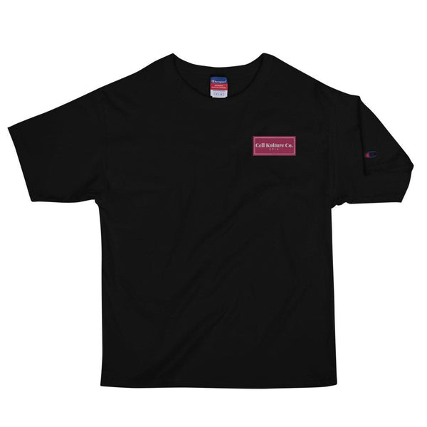 Cell Kulture Co. embroidered t-shirt | science clothing (STEM)
