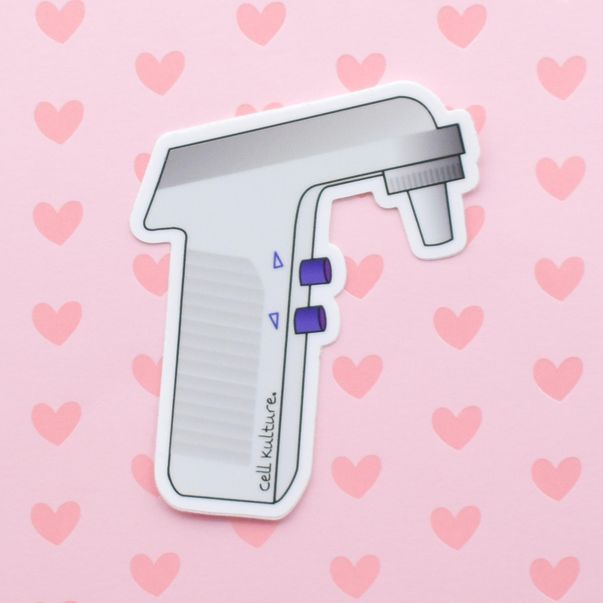 Pipette controller | vinyl science sticker (biology, chemistry)