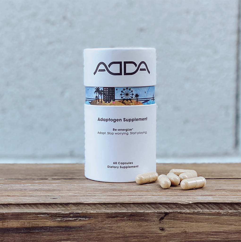 ADDA Adaptogen Supplement Capsules