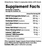 Load image into Gallery viewer, ADDA Adaptogen Supplement Facts and Ingredients