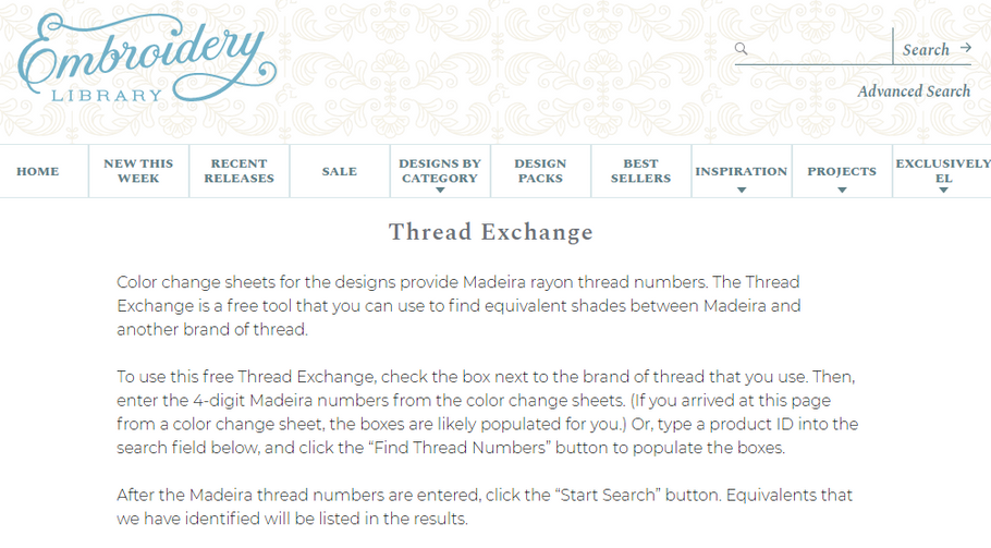 The Thread Exchange - Our Favorite Thread Conversion Chart