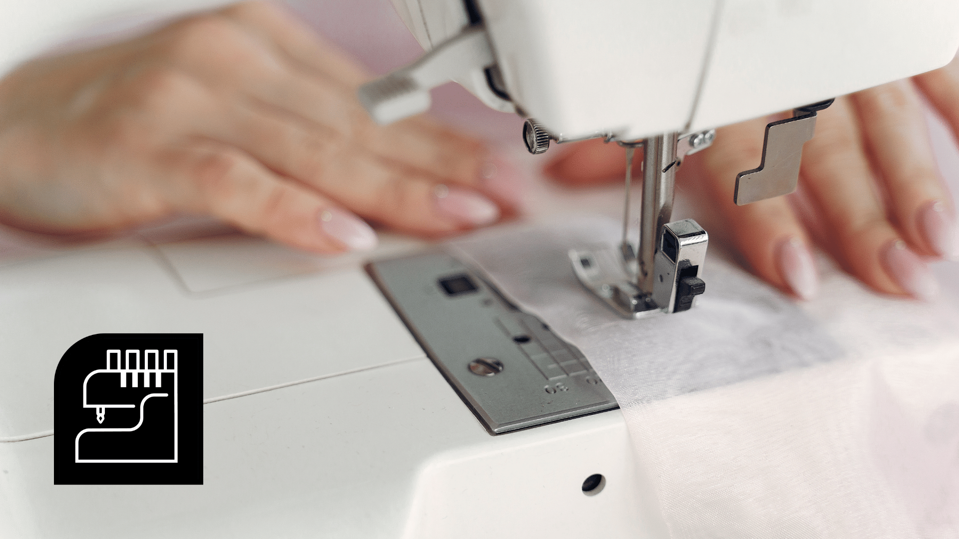 Picture of a woman learning how to sew