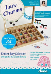 DIME, Lace Charms (DZN-LaceCharms) - Myers Sewing