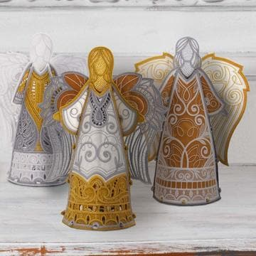 OESD, Freestanding Heavenly Angels (12816CD) - Myers Sewing