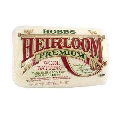 hobbs heirloom premium wool batting