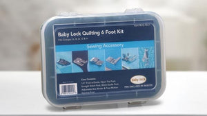Genuine Baby Lock Accessory, Quilting Foot Kit (BLQ-FEET) - Myers Sewing