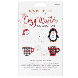 Kimberbell, Cozy Winter Buttons (KDKB168) - Myers Sewing