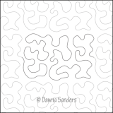 Dawna's Designs, Pantograph: Stipple (11PANS002) - Myers Sewing