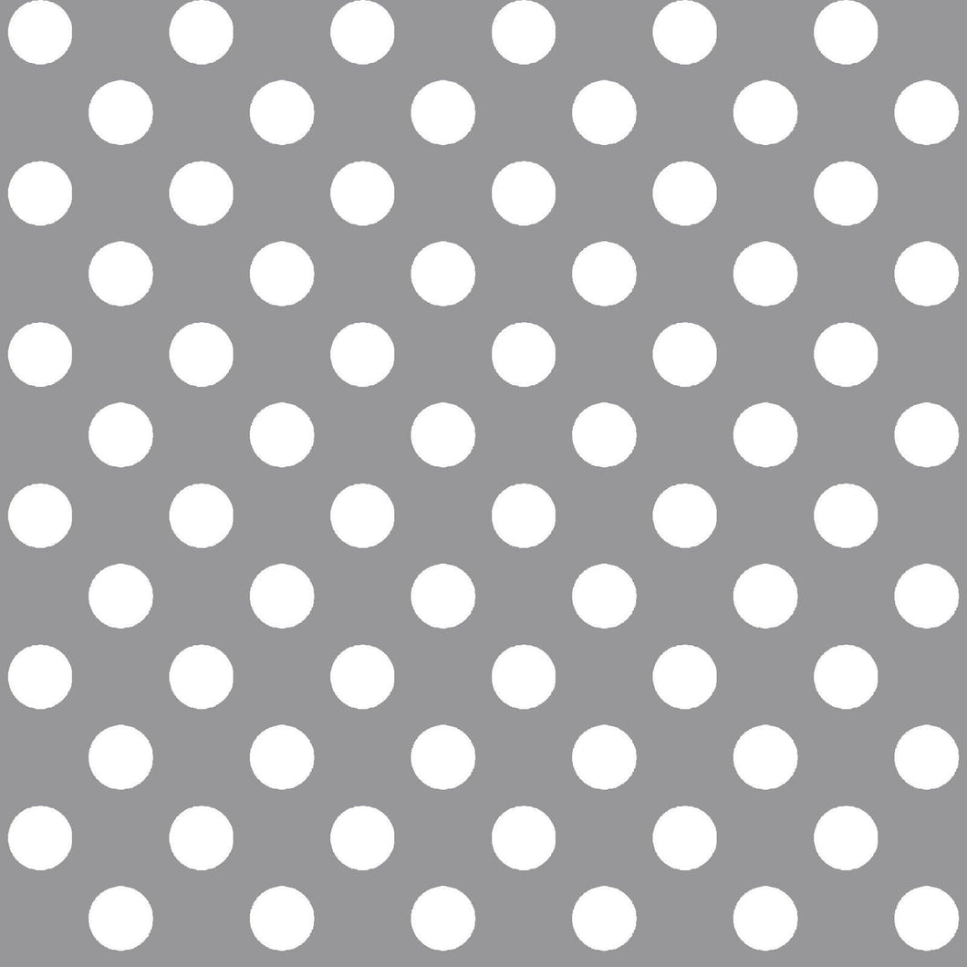 Kimberbell Fabric: Gray, Dots