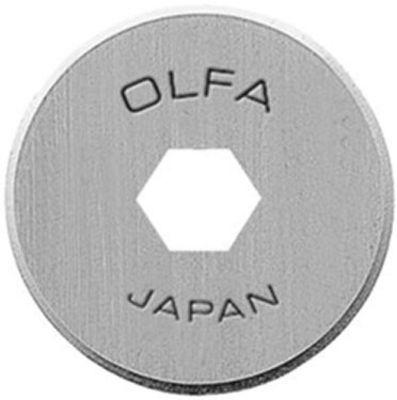Olfa, 18mm Replacement Rotary Blade 2/Pkg (RB18-2) - Myers Sewing
