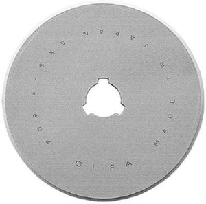 Olfa, 60mm Replacement Rotary Blade 1/Pkg (RB60-1) - Myers Sewing