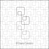 Dawna's Designs, Pantograph: Simply Squared 2 (15PANSS002) - Myers Sewing