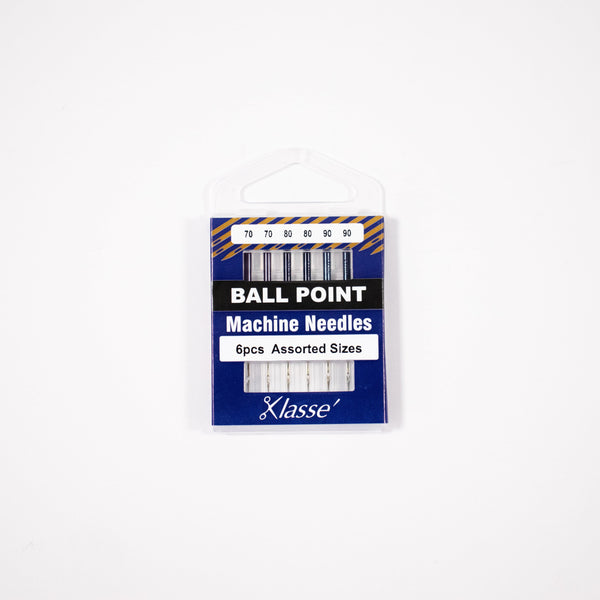 Klasse Ball Point Machine Needles Assorted