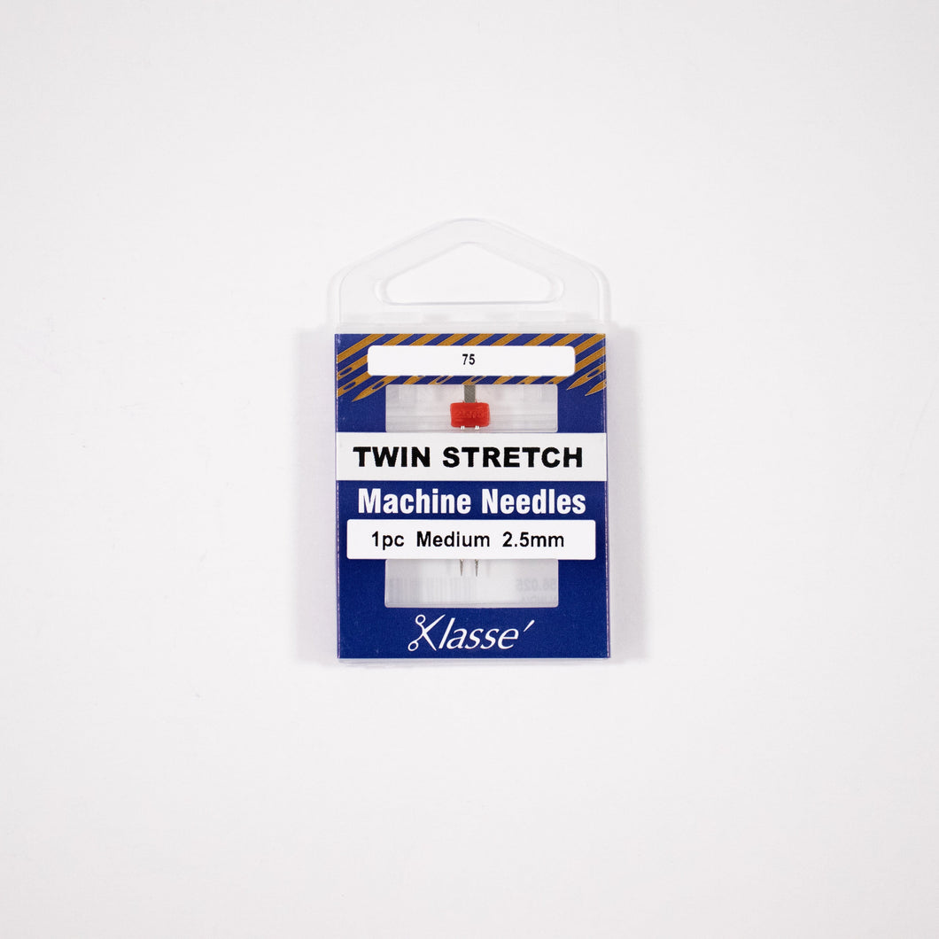 Klasse, Twin Stretch Machine Needles (AA5156.0##) - Myers Sewing