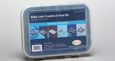 Genuine Baby Lock Accessory, Creative Foot Kit (BLC-FEET) - Myers Sewing